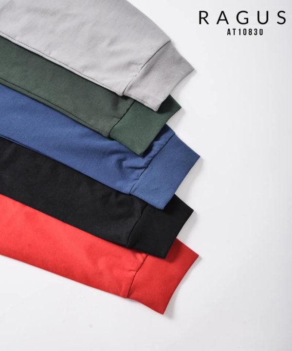 Áo thun tay dài vạt- bầu trơn-cổ tròn Routine 2018 tay bó