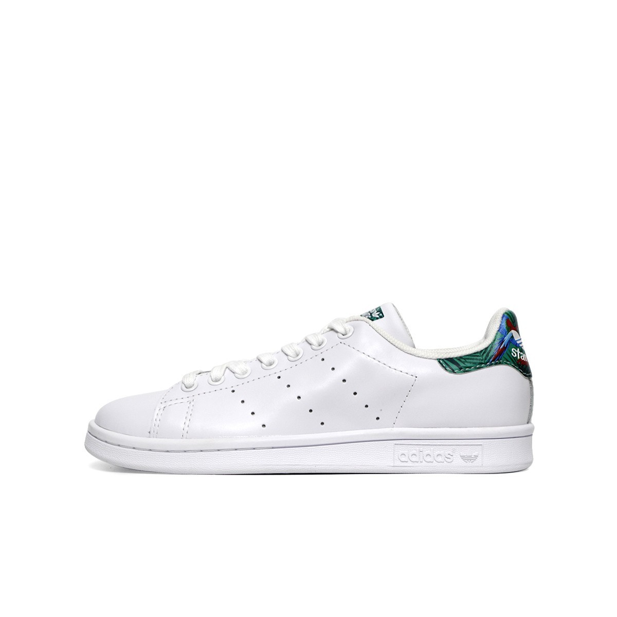 new concept 0ee17 a576e Stan Smith Leather White