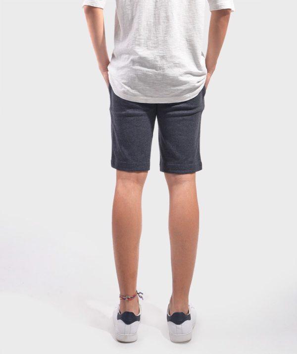 Quần Short Nam Knit - QS24300 xam 2