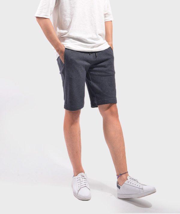 Quần Short Nam Knit - QS24300 xam