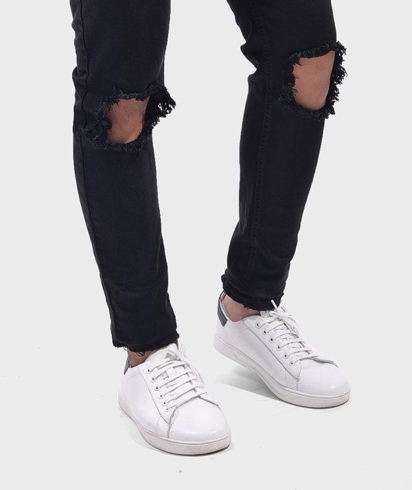 Quần Jean Nam Form Skinny Rách - QJ111018 3