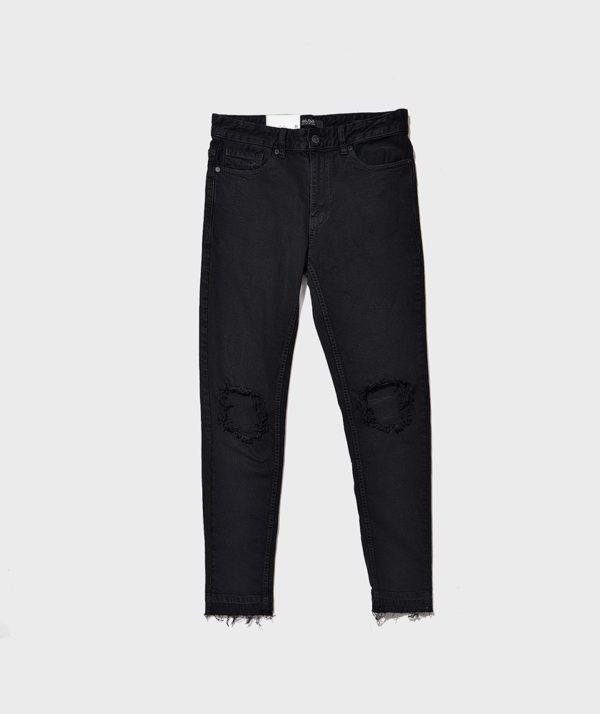 Quần Jean Nam Form Skinny Rách - QJ111018 6