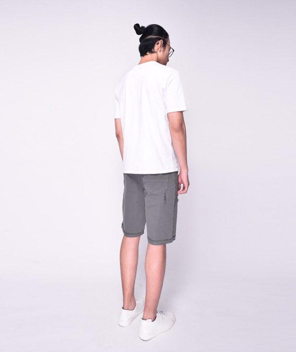 Quần Short Nam Dye Jeans Routine mau xám 2
