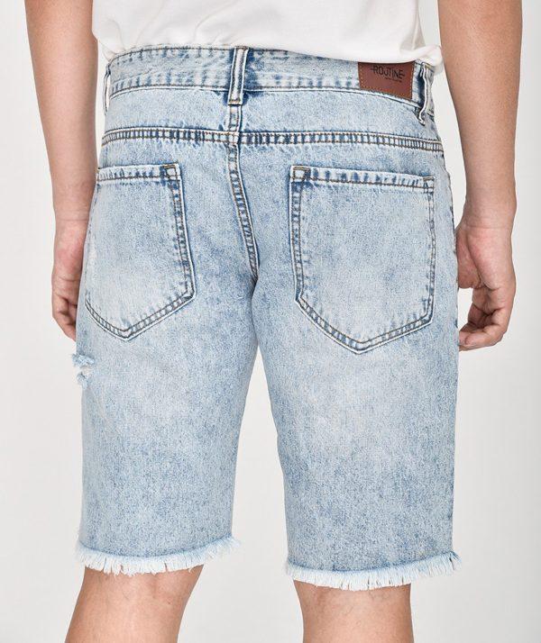 Quần Short Nam Jean Straight - QS21300 3