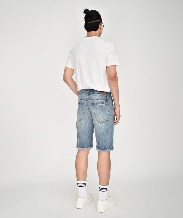Quần Short Nam Jean Straight - QS21300 6