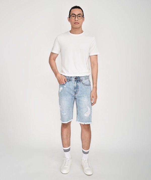 Quần Short Nam Jean Straight - QS21300