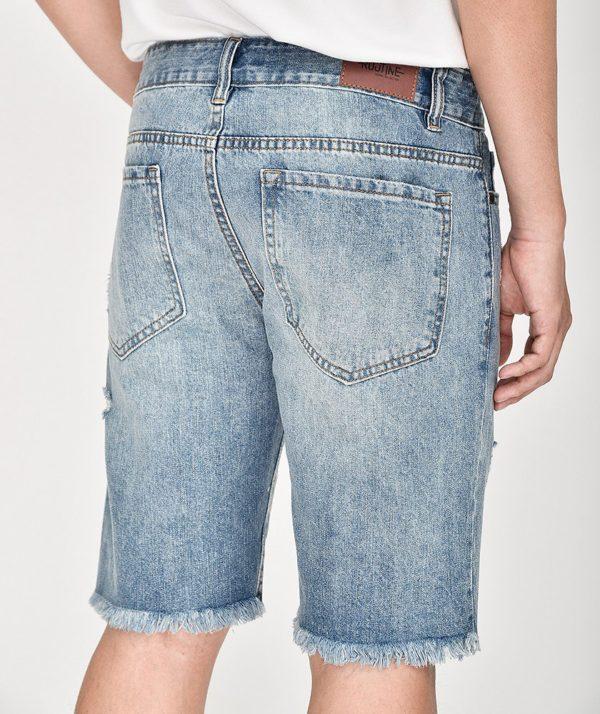Quần Short Nam Jean Straight - QS21300 7