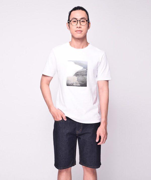 Quần Short Nam jean Form Slim navy routine- QS112019 1
