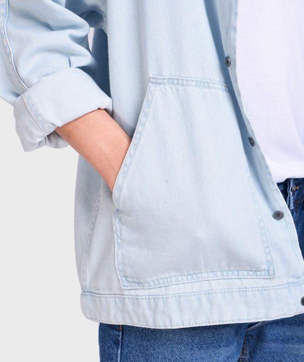Áo Sơ Mi Nam Tay Dài Jean Form Oversize - SM1042067 4