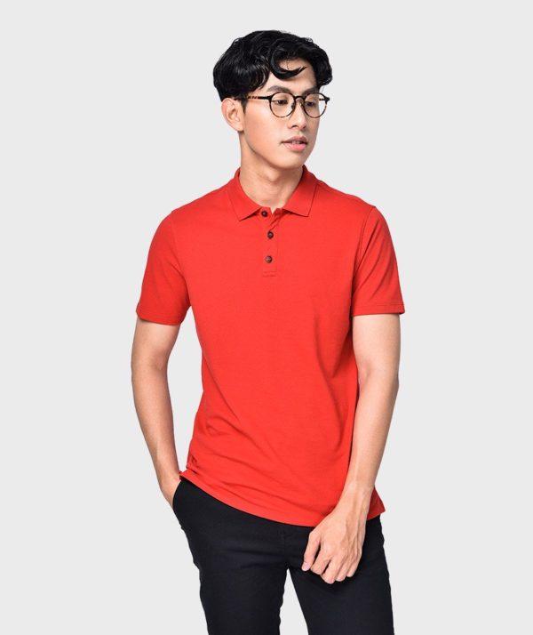 Áo Thun Nam Tay Ngắn Polo Bo Cổ Đỏ - AT2012032 1