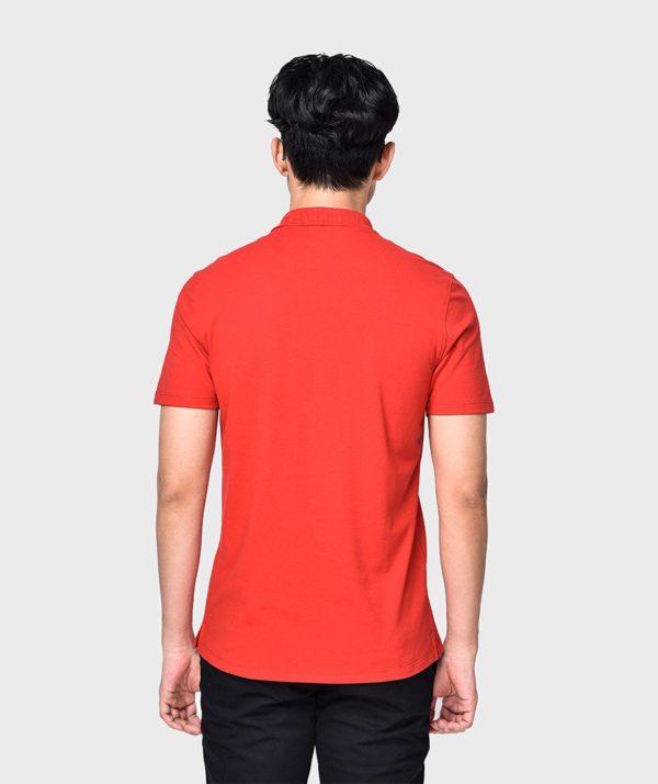 Áo Thun Nam Tay Ngắn Polo Bo Cổ Đỏ - AT2012032 2