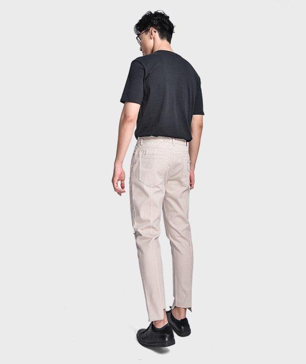 Quần Jean Nam Form Slim Cropped Dye - QJ225003 2
