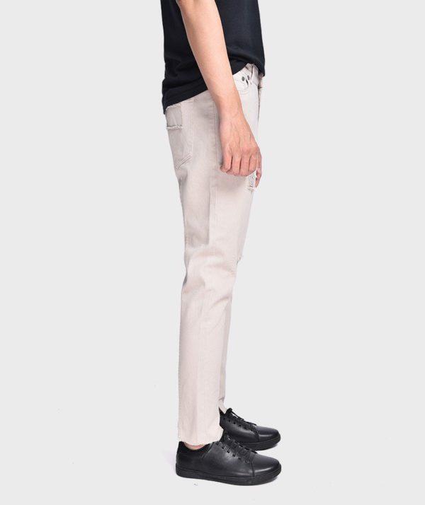 Quần Jean Nam Form Slim Cropped Dye - QJ225003 3