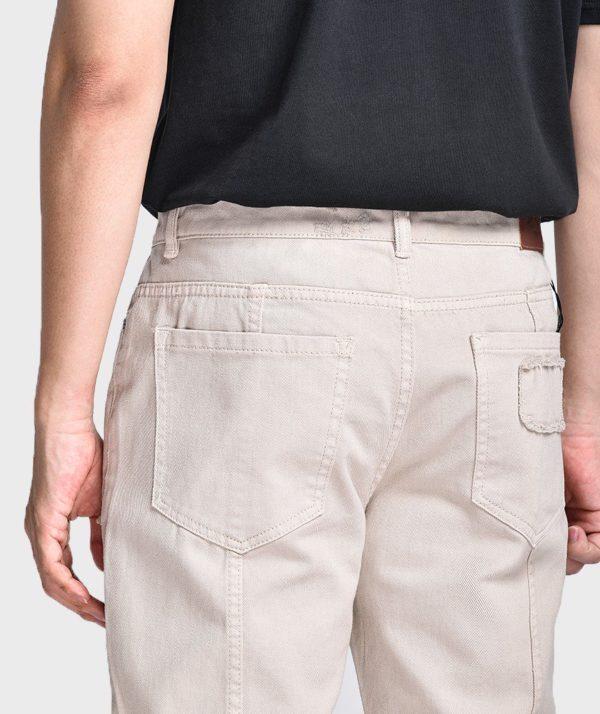 Quần Jean Nam Form Slim Cropped Dye - QJ225003 5