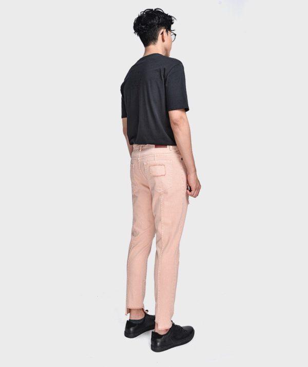 Quần Jean Nam Form Slim Cropped Dye - QJ225004 2