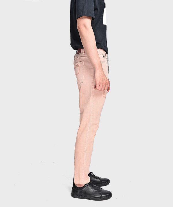 Quần Jean Nam Form Slim Cropped Dye - QJ225004 3