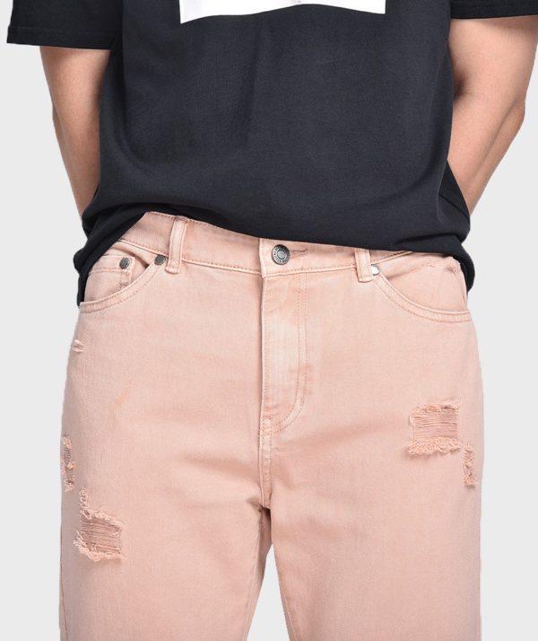 Quần Jean Nam Form Slim Cropped Dye - QJ225004 4