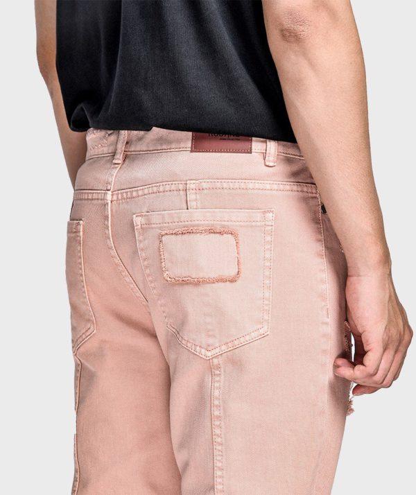 Quần Jean Nam Form Slim Cropped Dye - QJ225004 5