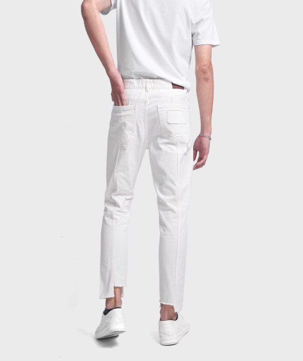 Quần Jean Nam Form Slim Cropped Dye - QJ225005 2