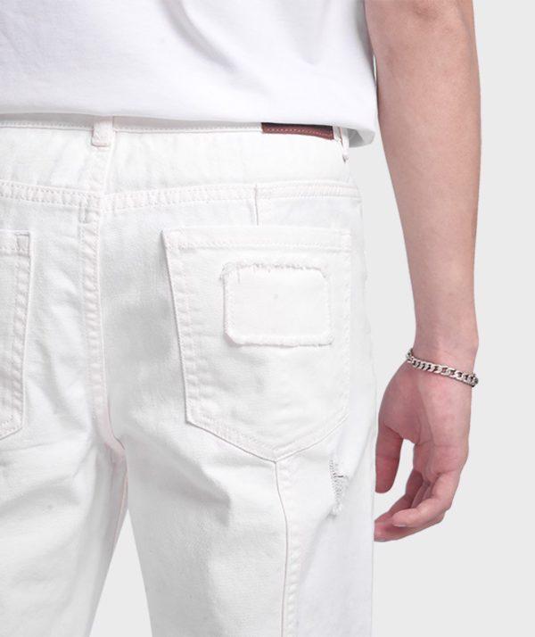 Quần Jean Nam Form Slim Cropped Dye - QJ225005 4