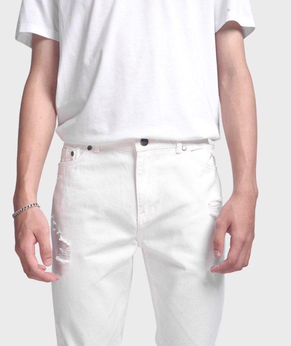 Quần Jean Nam Form Slim Cropped Dye - QJ225005 5