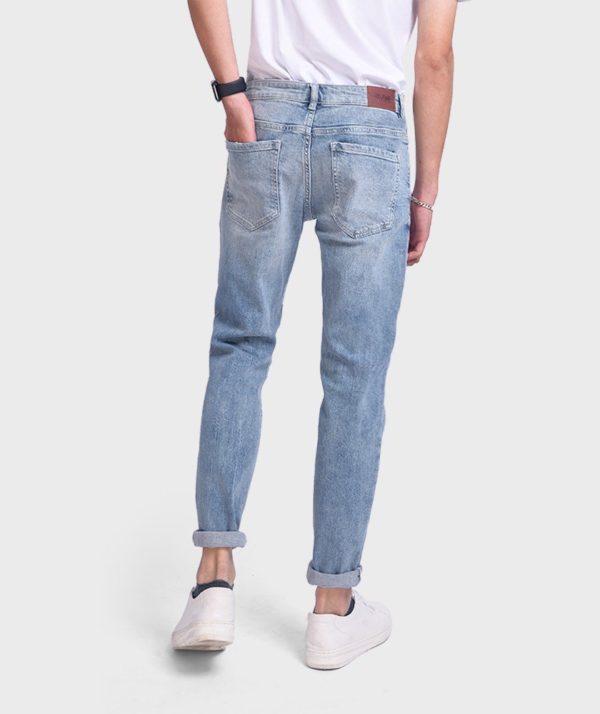 Quần Jean Nam Indigo Form Slim Fit - QJ112048 2