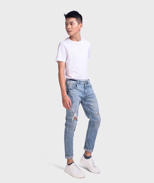 Quần Jean Nam Indigo Form Slim Fit - QJ112048 3