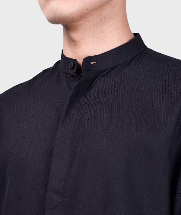 Áo Sơ Mi Nam Tay Dài Cổ Trụ Modal Flannel - SM115100 10