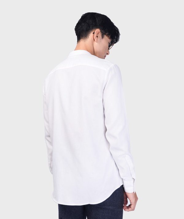 Áo Sơ Mi Nam Tay Dài Cổ Trụ Modal Flannel - SM115100 2