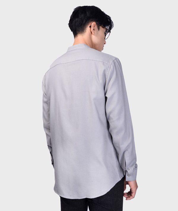 Áo Sơ Mi Nam Tay Dài Cổ Trụ Modal Flannel - SM115100 20