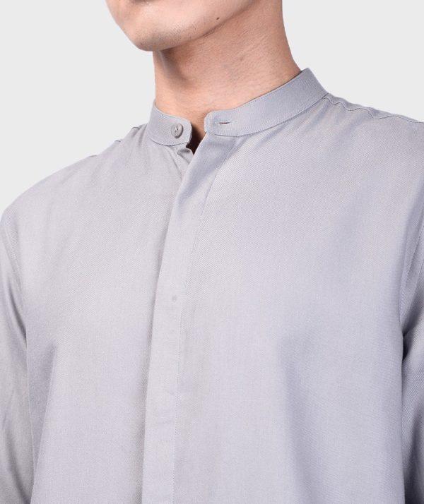 Áo Sơ Mi Nam Tay Dài Cổ Trụ Modal Flannel - SM115100 22