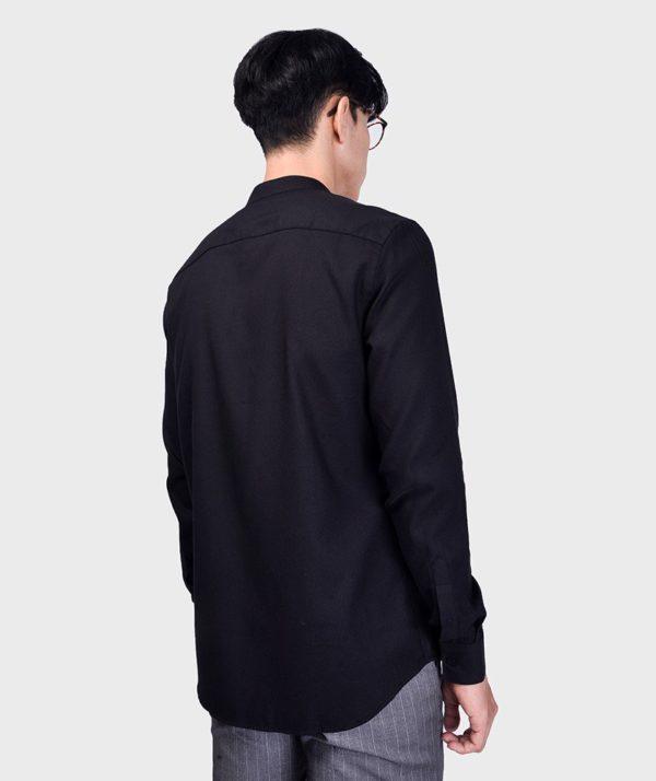 Áo Sơ Mi Nam Tay Dài Cổ Trụ Modal Flannel - SM115100 8