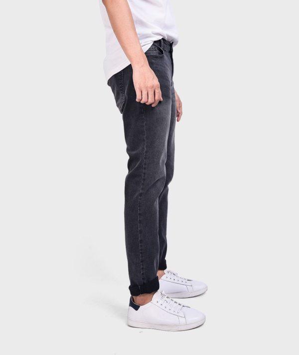 Quần Jean Nam Đen Form Slim Fit - QJ112050 4