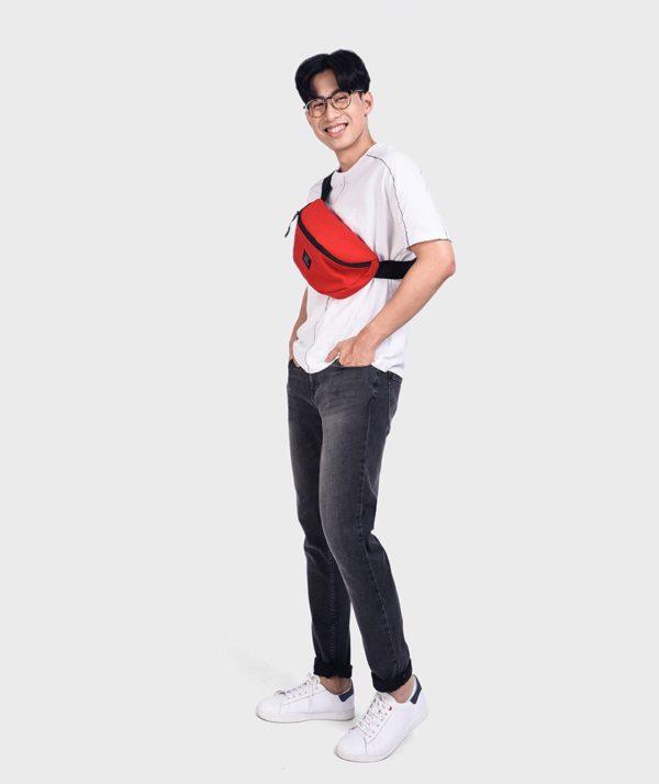 Quần Jean Nam Đen Form Slim Fit - QJ112050 7