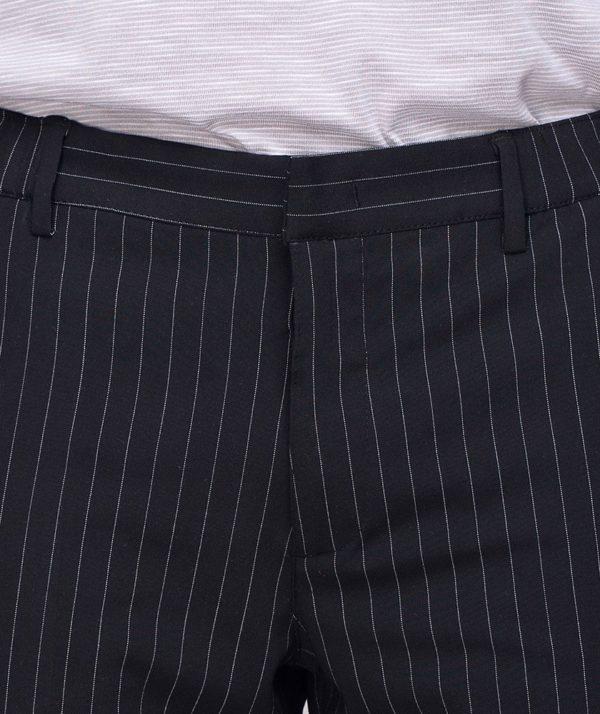 Quần Short Nam Vải Kẻ Sọc Cạp Chun Sau Form Slim - QS13202 3