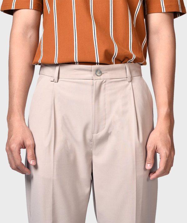 Quần Vải Nam Form Carrot - QV12600 13