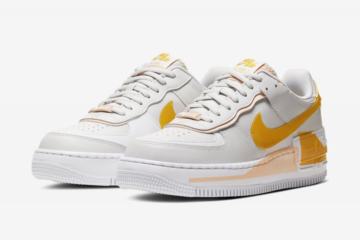 Nike Air Force 1 Shadow Pollen Rise Chuẩn Bị Ra Mắt Ragus The model, which is a women's exclusive, sets an example for. nike air force 1 shadow pollen rise